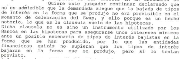 JPI 1 Gijón (cláusula suelo, previsiones)