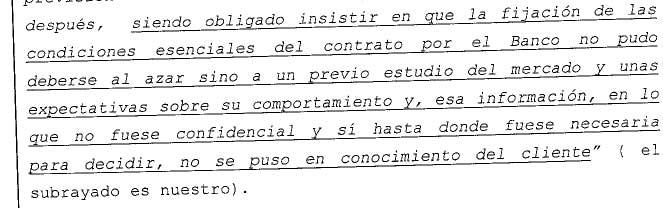 AP 6 Oviedo. Previsiones de los tipos de interés.